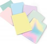 Pigna 02282125M Confezione 10 Quaderni Monocromo Pastel A4 80 5M