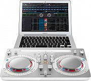 """Pioneer Mixer Dj Console Dj Virtual Dj 2 Piatti 4"""" USB iPad Windows DDJ-WEGO4-W"""