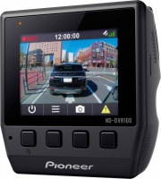 Pioneer ND-DVR100 Dash Cam Full HD con GPS Memoria 8 Gb Display LCD