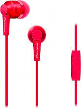 Pioneer SE-C3T-R Cuffie ad Archetto con microfono colore Rosso