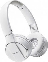 Pioneer SE-MJ553BT-W Cuffie Bluetooth Wireless Microfono Archetto Pieghevoli Mp3