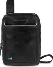 Piquadro CA3084B2N Borsa da Uomo iPad Mini Nero Pelle  CA3084B2