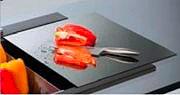 Plados Tagliere in cristallo per Linea Lux dimensioni 405 x 430mm TAGCRLUX Nero