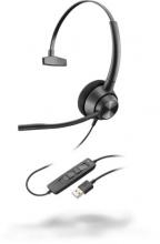 Plantronics 214568-01 Cuffie Auricolari Archetto Call Center  EncorePro 310 USB-A