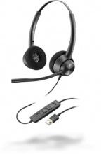 Plantronics 214570-01 Cuffie Auricolari Archetto Call Center  EncorePro 320 USB-A