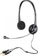 Plantronics 38889-11 Cuffie PC con Cavo e Microfono doppio Jack 3.5 38889-01 Audio 322