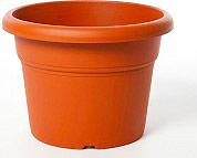 PLASTECNIC Vaso plastica fioriera 50x37h cm Terracotta 7100425085 RuberUnica
