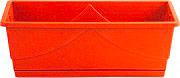 PLASTECNIC 7105416007 Fioriera Esterno Vaso plastica Rettangolare 60x17cm colore Terracotta