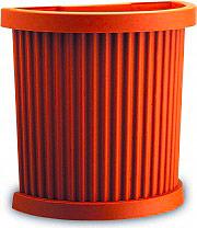 PLASTECNIC Vaso Fiori Fioriera in Plastica Sagomato dimensioni 50x26x48 cm - Egeo