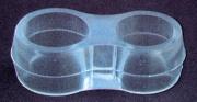 Plastimetal BLGHU1833 Paracolpo Doppio Anello Per Maniglie Pezzi 50