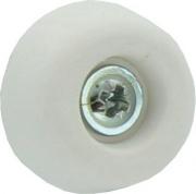 Plastimetal BLGHU1898 Sottosedie Cono C Viti mm 25 Bianco cf 25