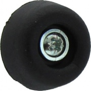 Plastimetal BLGHU1899 Sottosedie Cono C Viti mm 20 Nero cf 20