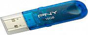 Pny Pen Drive 8 Gb usb 2.0 Unità Flash 25 Mbs Lettura colore Blu FD8GBATTCBTREF