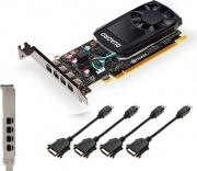 Pny VCQP1000V2-PB Quadro P1000 V2 4 GB GDDR5 128 bit PCI Express x16 3.0