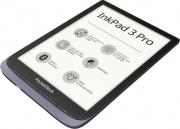 "Pocketbook PB7GREY-J-WW Ebook Reader 7.8"" inux Silver  Inkpad 3 Pro Metallic"