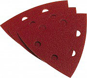 Poggi Fogli Abrasivi Triangolari con Fori per legno e metallo 25 pz 348.56