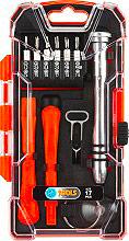 Poggi PG17A Kit Riparazione Smartphone Confezione 5 utensili + 12 Inserti