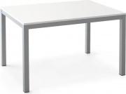 Pointhouse 08FAS130 Tavolo allungabile legno 130180x85x76h cm Bianco Alluminio
