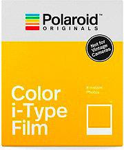 Polaroid 004668 Pellicola Color i-Type Film 4668