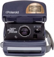 Polaroid 4710 Fotocamera Istantanea Compatta 17.5 Mpx Flash Grigio 600 Camera Round