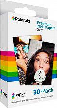 "Polaroid Carta fotografica 2x3"" 30 fogli Fotocamera ZINK Zero Ink"