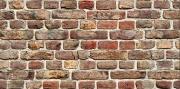 Polimark BLGHU2283 Pannello Decorativo Cm 50x100 Dis. Brick Pezzi 15