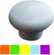 Poliplast MG26832GD Pomolo Tondo Plastica Giallo 50 26832