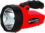 Polypool PP3170 Torcia LED Ricaricabile 100 lm Alimentatore ACDC 9V + 12V