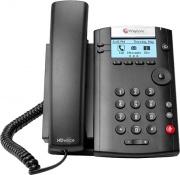 Polycom 2200-40450-025 Telefono IP Cornetta Cablata LCD 2 Linee Nero VVX 201