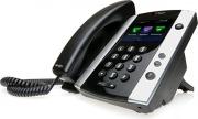 Polycom 2200-48500-019 Telefono IP Cornetta Cablata TFT 12 Linee Nero VVX 501
