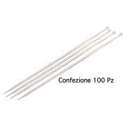 Polypool 308 Fascette per cablaggi interni 2.5 x 98 mm confezione 100 pz Bianche