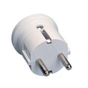 "Polypool Spina elettrica ""tedesca"" 16A 2P+T 250 V bianca - 407"