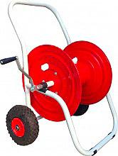 """Pompeo 220241251 Carrello Avvolgitubo con ruote 50 metri di tubo da 1"""""""