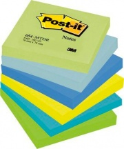 Post-it 67602 Confezione 6 Post-It 654- mt dr 76x76