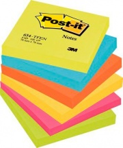 Post-it 67614 Confezione 6 Post-It 654-Tfen 76x76