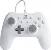 Power A 1517033-01 Gamepad Wired USB per Nintendo Switch GrigioBianco
