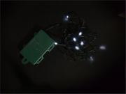 PreQu D1651 Filo Luci Led Bianco 10 luci Batteria esterno