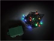 PreQu D1652 Filo Luci Led Multicolore 10 luci Batteria interno