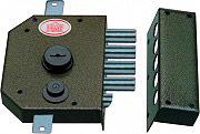 Prefer Serratura Porta Legno da Applicare Cilindro a Pompa Ent. 60 mm Dx SEG131