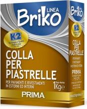 Prima 0001CP Linea Briko Colla Piastrelle Extra Da Kg. 1 Pezzi 12