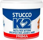 Prima 067 C Stucco Pronto K2 Noce Chiaro Da Kg. 0,500 Pezzi 12