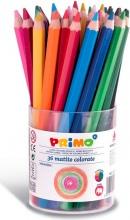 Primo 521B36 Confezione 36 Matite Colorate Jumbo Lacc