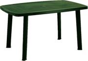 ProGarden 47800 Tavolo in Resina Faretto colore Verde 101x68