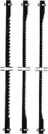 Proxxon 28745 Lama per sega da traforo denti fini Compatibile Modello DSH 12 pz