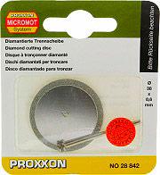 Proxxon 28842 Disco da taglio levigatura diamantato per porcellana ceramica 38mm