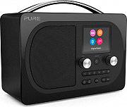 PURE EVOKE H4BK Radio Digitale DAB  DAB+  FM Portatile Bluetooth TFT Nero EVOKE H4