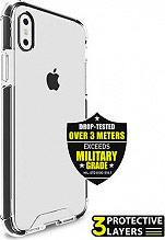 PURO Hard Shield Case Cover Custodia Apple iPhone X  Nero IPCHARDSHBLK