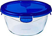 Pyrex 288PG007046 Contenitore multiuso 1.6 Lt vetro borosilicato Blu  Cook&Go