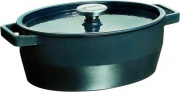 Pyrex SC4AC296241 Casseruola Cocotte Ovale con coperchio 3.8 lt Ghisa