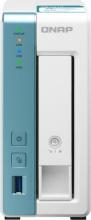 "QNAP TS-131K Alpine AL-214 1GB DDR3 1x 3.5"" SATA III 1x 1G RJ-45 3x USB"